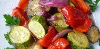 Citrinų marinate keptos daržovės. Norėsite dar ir dar...
