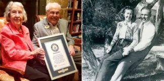 Jai yra 105 metai, o jam - 106. Pora atšventė 80-ąsias santuokos metines