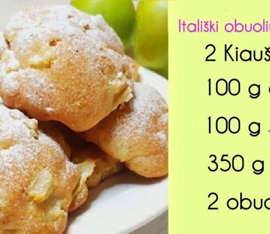 Minkšti itališki obuolių sausainiai. Apsilaižysite pirštus!