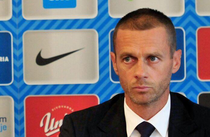 UEFA prezidentas