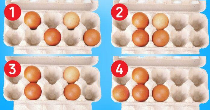Pasirinkite kiaušinių dėžutę ir sužinokite, kokia yra jūsų stiprioji pusė