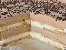 Paprastas, skanus ir greitai paruošiamas tortas, kurio nereikia kepti!