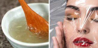 Veido kaukė su glicerinu ir želatina. Išsaugokite grožį!