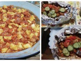 Nuostabi idėja pietums ar vakarienei. Be galo kvapnus ir gardus patiekalas!