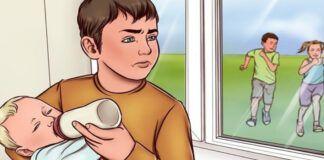 Kodėl vyriausias vaikas turi prižiūrėti jaunesnius brolius ir seseris?
