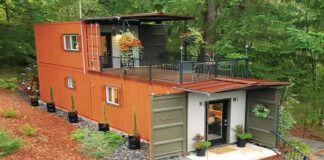 Pora pasistatė nuostabų namą gamtoje - jiems net nereikėjo imti paskolos