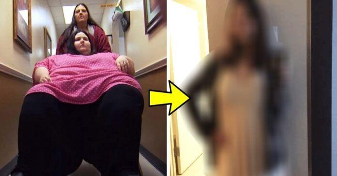 22 m. moteris per 2 metus visiškai pasikeitė. Ji numetė 240 kg!