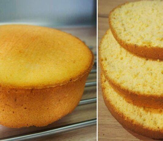 Tobulas biskvitas. Nuo šiol jūsų tortai bus nepakartojami!