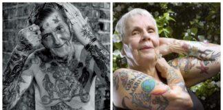 Ar kada susimąstėte, kaip senatvėje atrodo žmonės, turintys tatuiruotes?