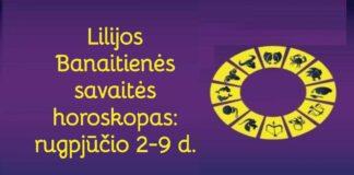 Lilijos Banaitienės savaitės horoskopas: ko tikėtis rugpjūčio 2-9 dienomis?