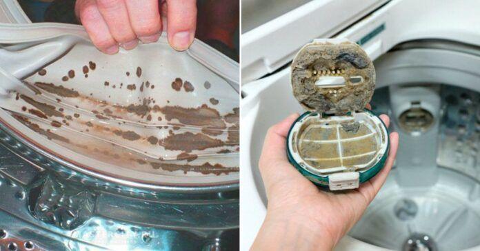 Skalbimo mašiną galite net namuose išvalyti patys!