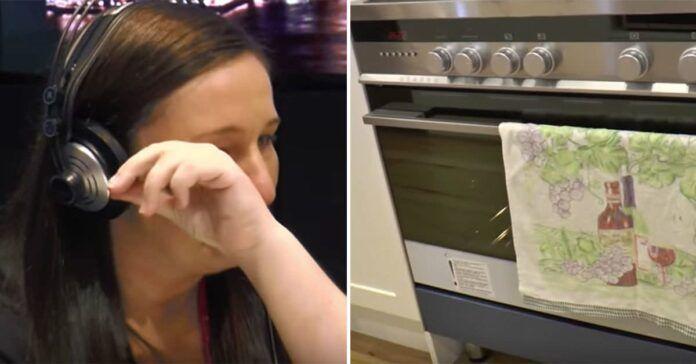Vyras paliko moterį, kai ji laukėsi 36 savaitę. Pamatykite ką ji rado orkaitėje!