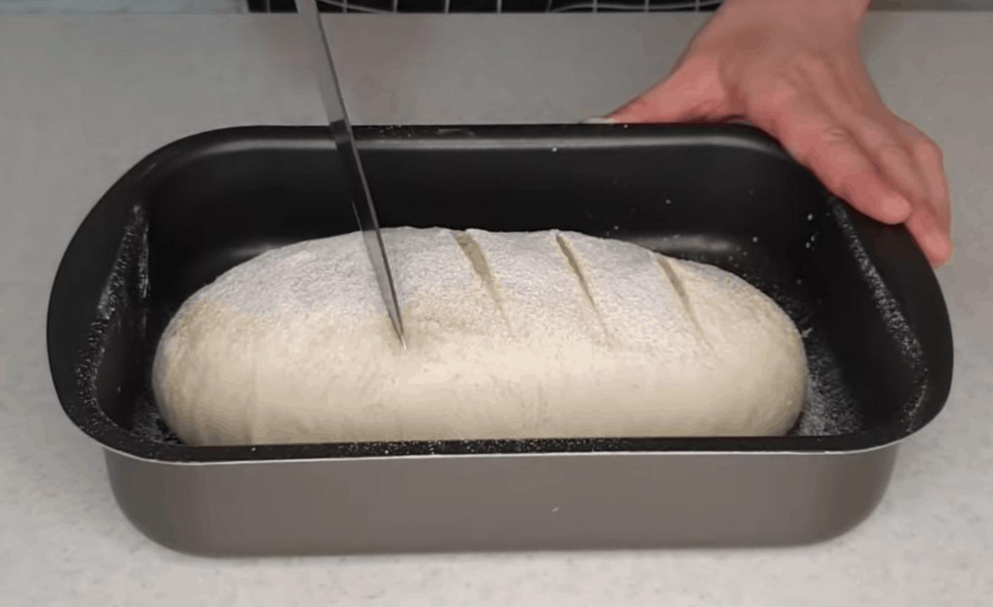 naminės duonos receptas