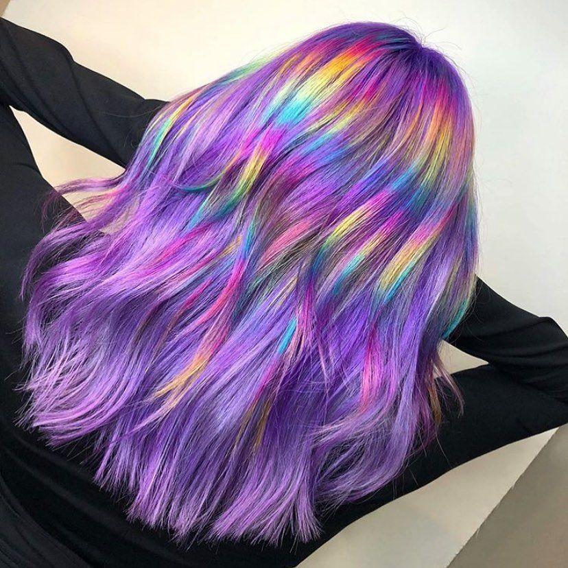 holografiniai plaukai