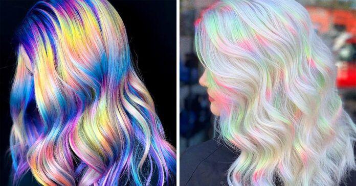Holografiniai plaukai - nauja tendencija. Ar išbandysite?