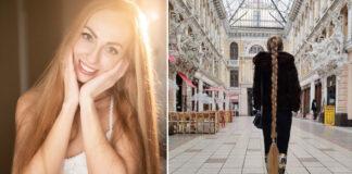 34-erių mergina iš Ukrainos nesilankė kirpykloje nuo 5 metų