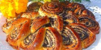Įspūdingas aguonų pyragas. Greitas ir labai skanus desertas!