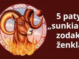 5 zodiako ženklai su sunkiu charakteriu. Ar esate vienas iš jų?
