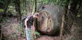 Vaikinai miške rado paslaptingą plieninį cilindrą ir parodė, kas yra jo viduje