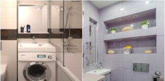 Patarimai, kaip viską sutalpinti mažame vonios kambaryje