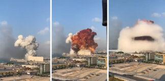 Libane užfiksuotas didžiulis sprogimas, kuris buvo juntamas net už 240 km