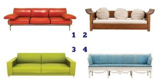 Psichologinis testas: pasirinkta sofa atskleis, kokia esate moteris