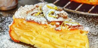 Drėgnas obuolių pyragas, kurio receptu pasidalino profesionali konditerė