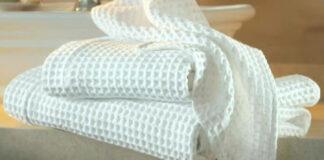 Sužinokite, kaip geriausia išbalinti virtuvinius rankšluosčius!