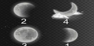 Testas: išsirinkite mėnulį ir sužinokite, ar jūsų planai išsipildys