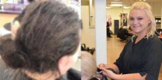 Mergina daugybę dienų nesišukavo plaukų. Kirpėja dirbo 13 valandų, kad juos išsaugotų