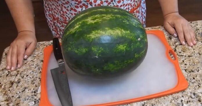 Įdomiausi ir patogiausi būdai, kaip galima supjaustyti arbūzą!
