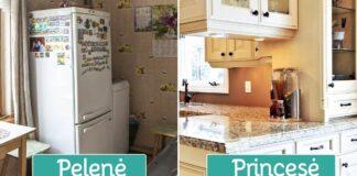 10 būdų, kaip savo virtuvę iš pelenės paversti princese!