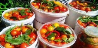 Fermentuoti pomidorai su cukrumi. Neįprastas derliaus panaudojimas!