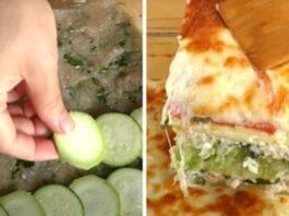 Tobula cukinijų, mėsos ir sūrio užkepėlė. Skonis, kuris nepaliks abejingų!