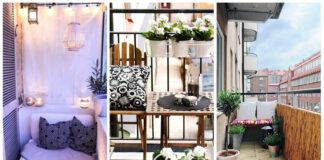 20 idėjų, kaip įsirengti nedidelį balkoną. Maža erdvė - daug galimybių!