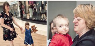 Jos greitai gali tapti benamės: sergančios mergaitės ir jos aklos mamos istorija