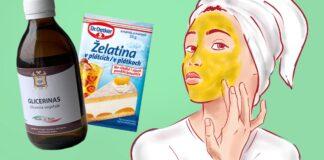 Želatinos kaukė su glicerinu. Kodėl turėtumėte ją daryti kas antrą dieną?