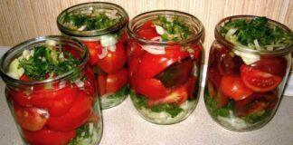 Lenkiškai konservuoti pomidorai. Taip skanu, kad pakartosite dar šiemet!