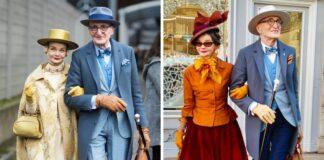 Labai stilingai apsirengusios vokiečių poros nuotraukos užkariavo internautų širdis