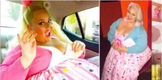 Mergina numetė 80 kilogramų, kad atrodytų kaip barbė
