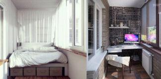 Originalios ir kūrybiškos idėjos, kaip pertvarkyti balkoną