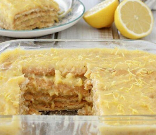 Nekeptas, gaivus citrininis pyragas. Užtruksite vos pusvalandį!