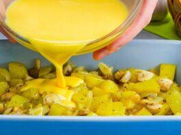 Neįprastai paruoštos keptos bulvės. Puikus patiekalas visai šeimai!