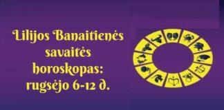 Lilijos Banaitienės savaitės horoskopas: ko tikėtis rugsėjo 6-12 dienomis?