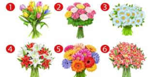 Pasirinkite gėlių puokštę ir sužinokite, kokia moteris esate