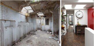 Moteris apleistą viešąjį tualetą pavertė prašmatniais namais