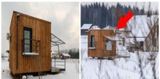 Degtukų dėžutė, kurioje galite gyventi. Pažiūrėkite, kaip vyras įsirengė mažytį namuką