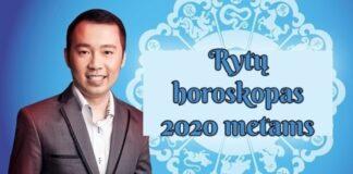 Rytų horoskopas 2020 metams, kurį sukūrė Kevinas Fungas