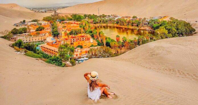Tikras stebuklas dykumoje: žmonės aplink ežerą pasistatė miestelį