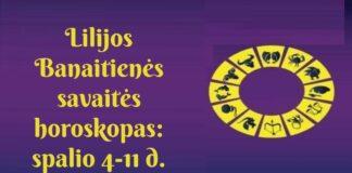 Lilijos Banaitienės savaitės horoskopas: ko tikėtis spalio 4-11 dienomis?